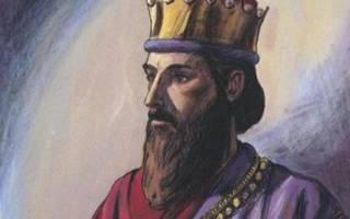 Правление царя соломона. Царь Соломон: биография, приход к власти, символика
