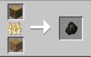 Где же в майнкрафте найти уголь.