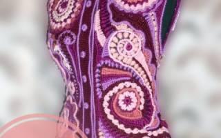 Вязание крючком фриформ модели. Секреты вязания фриформ