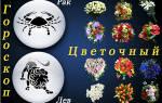 Цветочный гороскоп по дате и месяцу рождения. Цветочный гороскоп