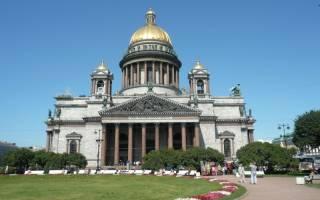 Исаакиевский собор (начало). Тайны исаакиевского собора