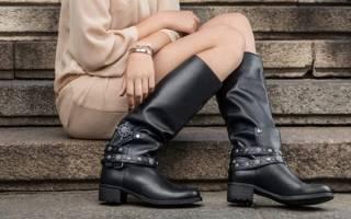 Обувь осень зима основные тенденции. Модные сапоги без каблука