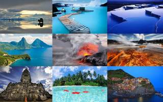 Как выглядит самое красивое место на земле. Самые красивые в мире места