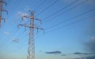 Передача и распределение электрической энергии.