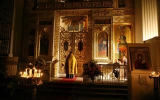 Вечернее правило на сон. Молитвы вечерние читать