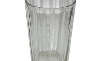 Сколько существует типов граненых стаканов. Граненый стакан