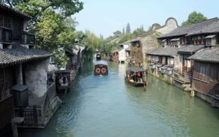Китайская венеция город где больше 100 мостов. Сучжоу — китайская Венеция
