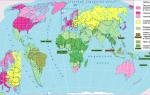 2 современная политическая карта мира. Современная политическая карта мира
