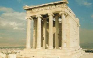 Все храмы древней греции. Храмы древней греции