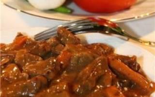 Балкарская кухня. Джэд либжэ (кабардинское блюдо)