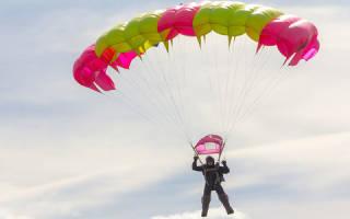 Видеть во сне парашюты. Парашют не раскрылся полностью