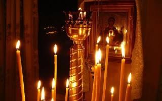 Если трещит и дымится церковная свечка. Церковная свеча: обряды