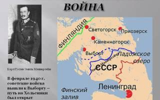 Причины начала советско финской войны. Советско-финляндская война