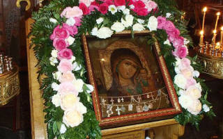 День рождения казанской божьей матери. Икона божией матери казанская