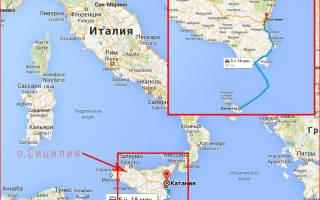 Паром Мальта – Сицилия. Перелеты на мальту