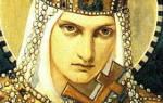 Ольга годы жизни и правления. События в период правления ольги
