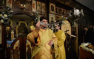 В какие цвета облачаются священники. Цвета используемые на богослужении