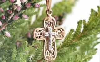 Как носить православный крест. Какой крестик нужен для Крещения