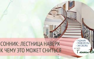 К чему снится подъем по лестнице. Сонник от «А» до «Я»