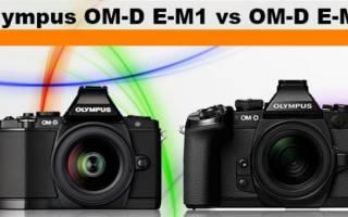 Полный обзор Olympus OMD EM1. Сравнение Olympus OM-D E-M1 и OM-D E-M5