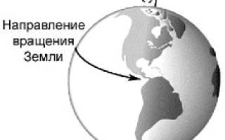 Годовое вращение земли вокруг солнца. Движения земли