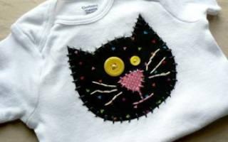 Аппликации из ткани для детей на одежду. Аппликации на одежду