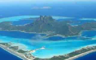 Самые интересные острова мира. Бора-Бора — остров влюблённых романтиков