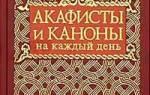 Что такое акафисты святым? Акафист Николаю Чудотворцу. Акафист Богородице
