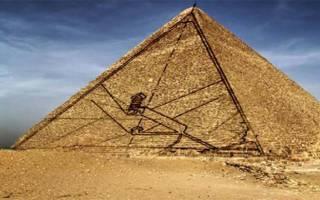 Пирамида хеопса внутри. Тайны египетской пирамиды хеопса