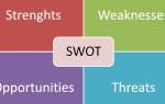 Swot анализ идеи простые примеры. Проведение swot-анализа на предприятиях