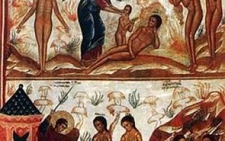 Рай и Ад, что о них говорит Писание? Вера православная — ад-алф.
