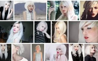Короткие белые волосы. Сонник домохозяйки Сон приснился Волосы