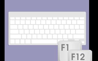 Кнопки f1 f12 на ноутбуке. Клавиши F1-F12 и их функции