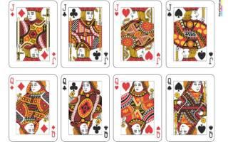 Печатать карты игральные. Печать игральных карт