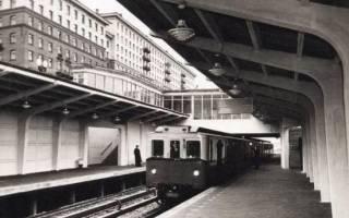 Московское метро, Филёвская линия. Филевская линия