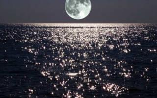 Даты убывающей луны в августе.