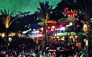 Ночная жизнь на бали. Ночные клубы и бары бали — отзывы туристов