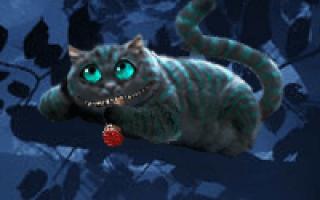 Таро на отношения чеширский кот. Гадания онлайн
