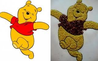 Рисунки из крупы для детей. Аппликация из крупы для малышей