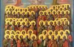 Фото, значения икон всех святых в православии и их описание.