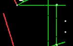 Прямых и плоскостей. Построение взаимно перпендикулярных плоскостей