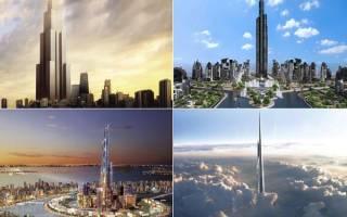 Самое высокое сооружение в мире. Самое высокое здание в мире