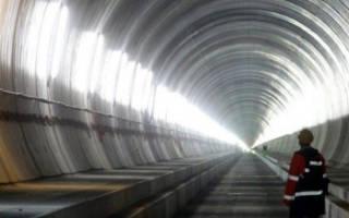 Подводные тоннели мира. Самый длинный в мире тоннель