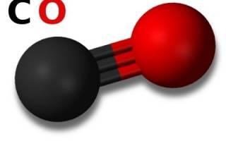 Угарный газ плюс вода. Угарный газ