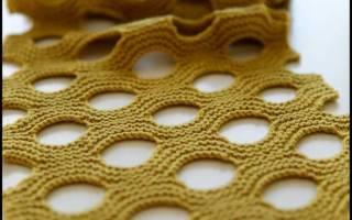 Какой ширины вязать шарф женский. Какой ширины должен быть детский шарф