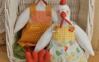 Тильда петух описание. Новогодние подарки петух и курица в стиле тильда