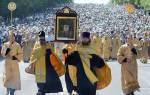 Великорецкий крестный ход. Престол в честь святителя николая чудотворца