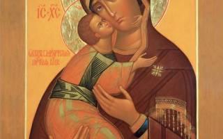 Богоматерь владимирская краткое описание. Владимирская икона Божией Матери