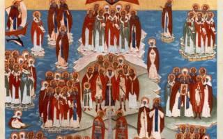Именины Андрея. Прославленные святые с этим именем