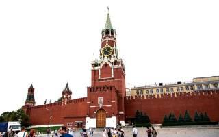 Спасская башня московского кремля. Спасская башня